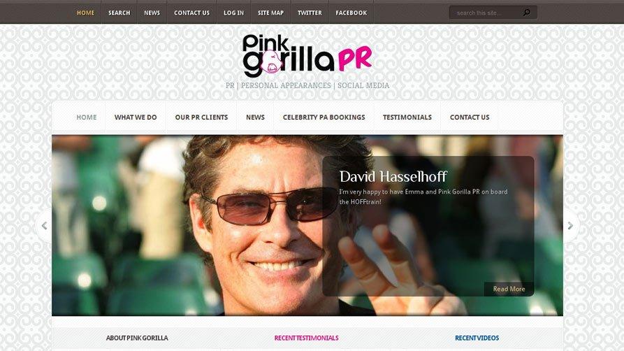 Pink Gorilla PR